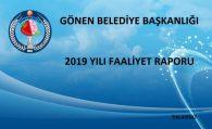 2019 YILI FAALİYET RAPORU