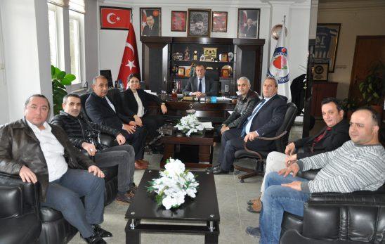 Antalya Tapu ve Kadastro VI. Bölge Müdürü Sn. Funda AYDIN SEYMEN Başkanı Ziyaret Etti.