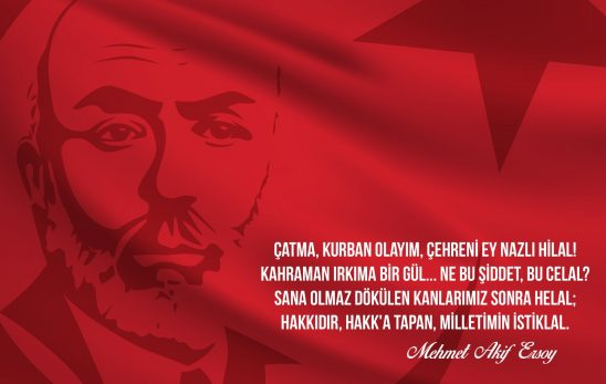 Başkanın İstiklal Marşı'nın Kabulünün 98. Yılı Mesajı