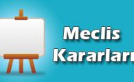 2018 KASIM MECLİS KARARLARI